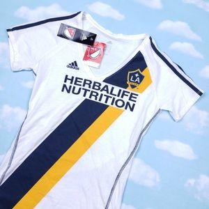 MLS LA Galaxy soccer team jerseyNWT, used for sale